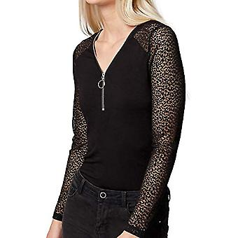 Morgan Tshirt TEMALA T-Shirt, Black, XS High Woman