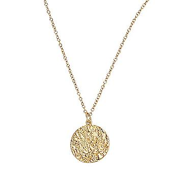 """OELANI - Women's pendant necklace, in gold-plated silver 925 """"Antique""""(1"""