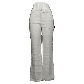 NYDJ Jeans Jambe large Capri Jeans avec poches utilitaires blanc A446612