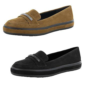 H Por Halston Mujer Brynn Suede Loafer Zapatos