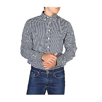 Hackett - Ropa - Camisas - HM305379-595 - Hombres - azul marino- blanco - M