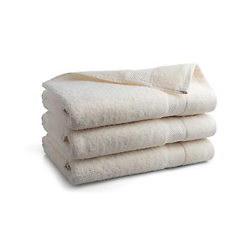 Seashell Hotel Collectie Handdoek - Crème - 3 stuks - 70x140cm