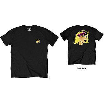 Blondie - Punk Logo Men's Large T-Shirt - Black