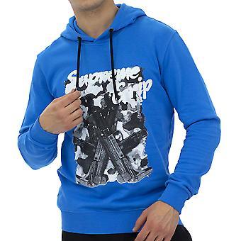 Supreme Grip Menn Hettegensere Sweatshirt Modena Svart