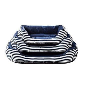 Retro firkantet kjæledyr nest luksuriøs kjæledyr sofa nest