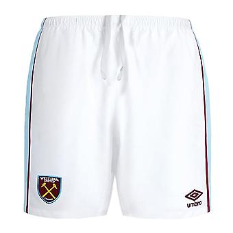 2021-2022 West Ham Home Shorts (Kids)