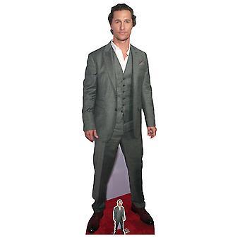 Matthew McConaughey Celebrity Lifesize Cardboard Cutout / Standup