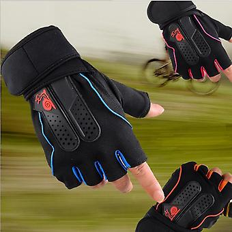 Men's Weight Lifting Gym Fitness Workout Training Exercise Half Gloves