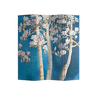 Fine Asianliving Room Divider Privacy Screen 4 Panneau Blossom Trees L160xH180cm