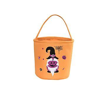 Halloween Pumpkin Candy Bucket Halloween Trick or Treat Bucket for Kids