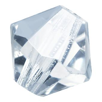 Preciosa tjekkisk krystal, Bicone Perle 5mm, 32 stykker, Crystal Lagoon