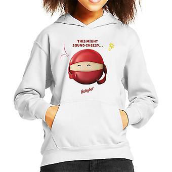 Baby Bel Detta kan låta Cheesy Kid's Hooded Sweatshirt