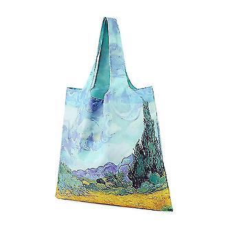 Ženy's Nákupní taška Ekologická Tote 2 řiditelná nákupní tote kabelka