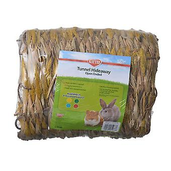 """Kaytee Color Nest Tunnel Hideaway - Open Ended - Large - (9.8"""" Long x 7.9"""" Diameter)"""