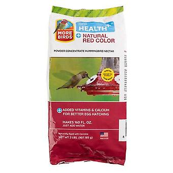 More Birds Health Plus Natural Red Hummingbird Nectar Powder Concentrate  - 2 lbs