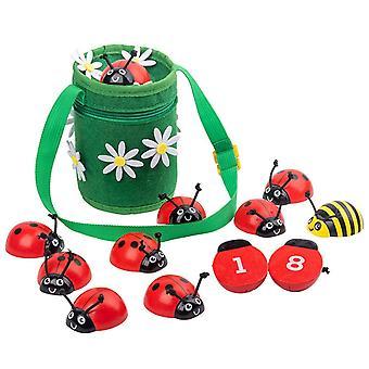 Liczenie Beetle Game Zabawki Przedszkole Zabawa Dom Numerowane zabawki edukacji dla dzieci
