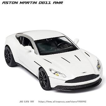 Toy cars 1:32 aston martin db11 diecasts toy model white