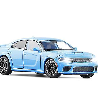 Toy cars 1:32 dodge challenger srt hellcat sport car model alloy diecasts toy vehicles simulation