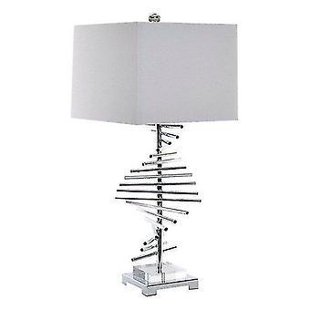 Speaker components kits desk lamp acrylic linen metal 31 x 31 x 71 cm