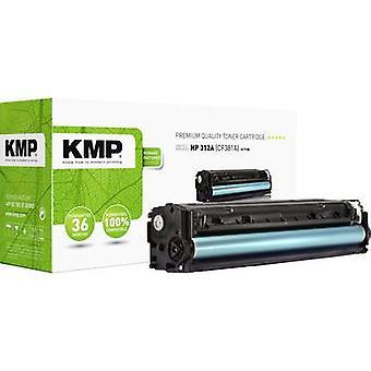 El cartucho de tóner KMP H-T190 reemplazó al cartucho de tóner compatible con hp 312A, CF381A Cyan 2700