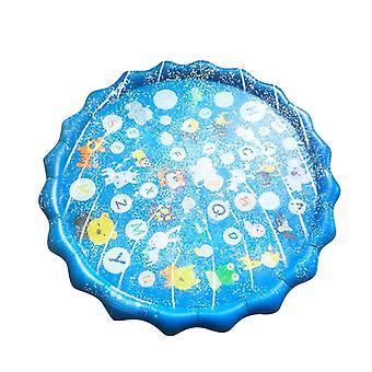Enfants Été Extérieur Water Play Pad Mat Pelouse Gonflable Sprinkler Coussin Jouet