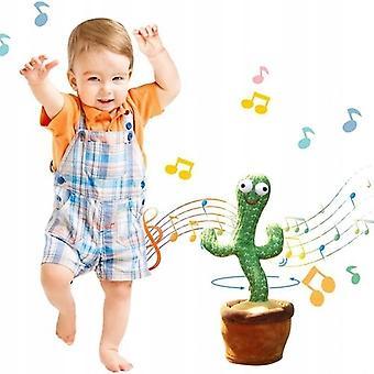 רוקדים קקטוס קטיפה צעצועים לשיר, לרקוד ולהקליט צעצוע אלקטרוני עבור חג יום הולדת ילדים מתנה