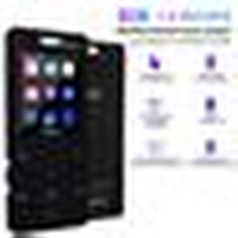 Bluetooth Mp3 / Mp4 sportlejátszó fülhallgatóval 8gb 1.8 Inch érintőképernyő - fekete