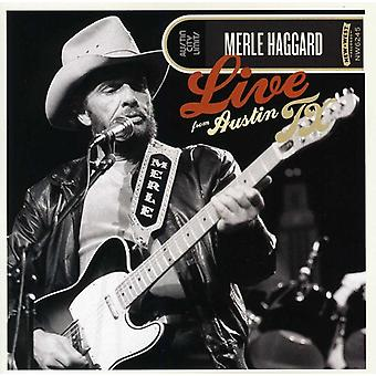 Merle Haggard - Live From Austin Texas [CD] USA import