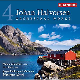 J. Halvorsen - Johan Halvorsen: Œuvres orchestrales, importation USA Vol. 4 [CD]