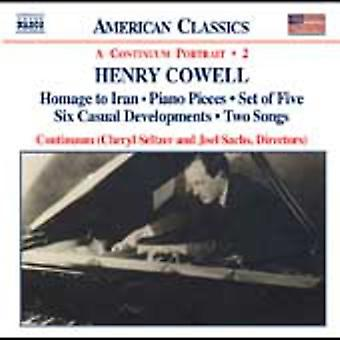 H. Cowell - Henry Cowell: Instrumental, Chamber and Vocal Music, Vol. 2 [CD] USA import