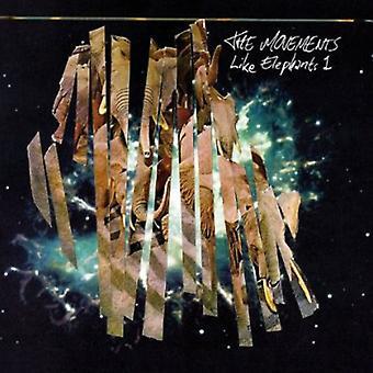 Rörelser - som elefanter 1 [CD] USA import