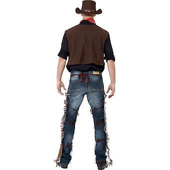 Strój kowbojski, brązowy