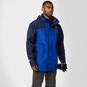 New Technicals Men's Pinnacle Waterproof Jacket Blue
