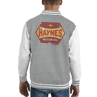 Haynes goldenen Vlies Motoröl Kid Varsity Jacket