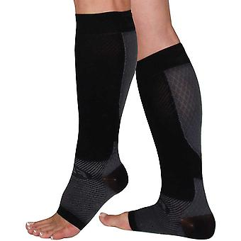 OS1st calf combo compression sleeves [black]