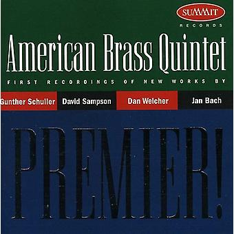 American Brass Quintet - Premier: American Brass Quintet [CD] USA import