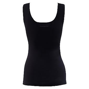 BlackSpade Private Black Cotton Lace Singlet Vest Top 1957
