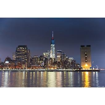 New York City Freedom Tower Poster Poster Print