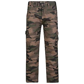 Kam Dark Camouflage Pants