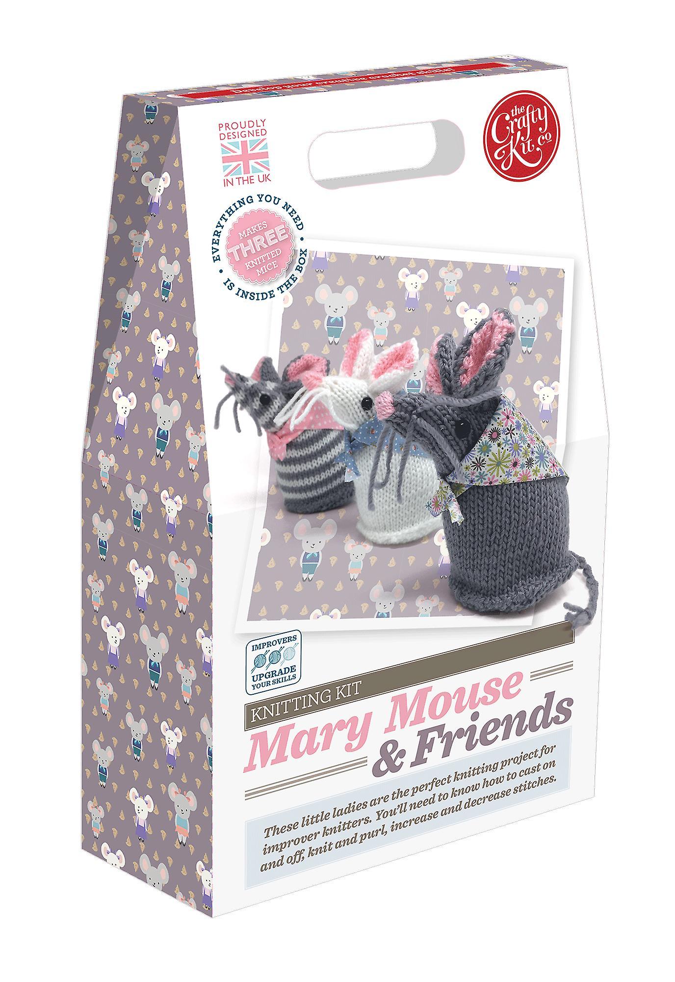 María Mouse y amigos Kit de tejer