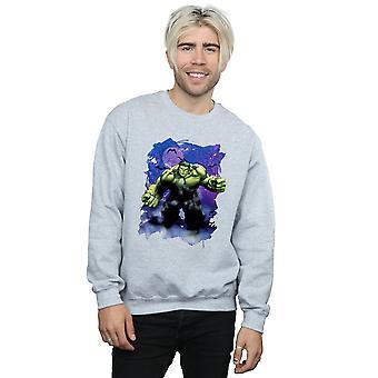Marvel Men's Hulk Halloween Spooky Forest Sweatshirt