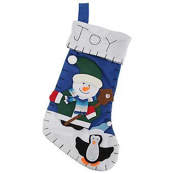 雪だるま/サンタ/トナカイ デザイン感じたクリスマス ストッキング