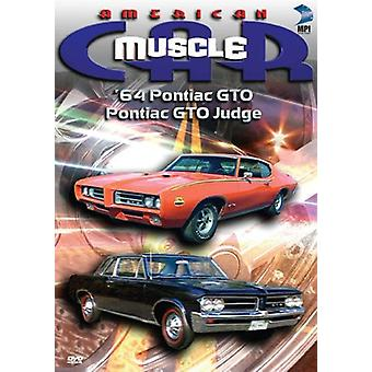 The American Musclecar: '64 Pontiac Gto and Pontiac Gto Judge [DVD] USA import