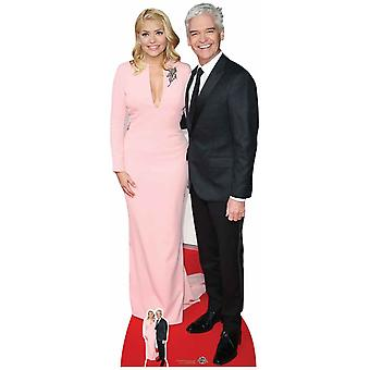 Holly Willoughby and Phillip Schofield Lifesize Cardboard Cutout / Standee