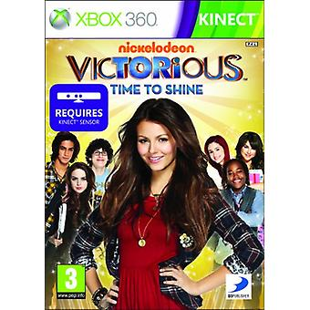 Victorious time to Shine-compatibel met Kinect (Xbox 360)-nieuw