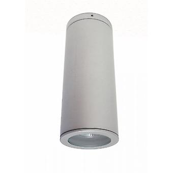 Stropná škvrna Jaci Ceil COB LED 1x9 W 3000K IP54 titánové striebro 10373
