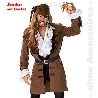 Capitanul costum barbati Pirate Coat Kapitain Pirate haina barbati costum