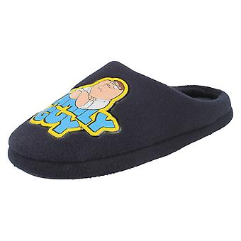 Mens Family Guy Comedy Cartoon Character Slippers Peter Griffin