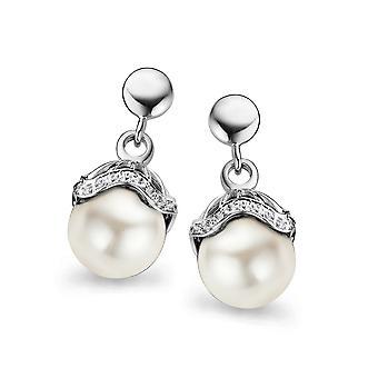 Orphelia Silver 925 Earring Shell Pearl White  ZO-5029