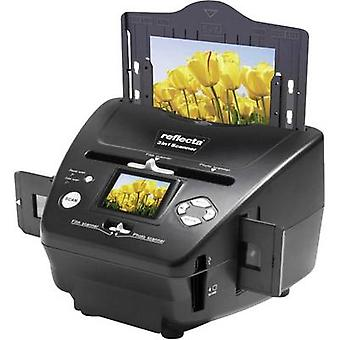 Reflecta 3in1 Scanner Slide scanner, Image scanner, Negative scanner 1800 dpi PC-free digitizing, Display, Memory card slot
